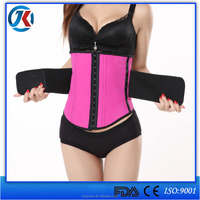 medical orthopedic back support belt latex corset waist trainers with good quality