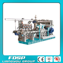 Manual batching fish feed plant machinery extruded equipment for fish pellet food
