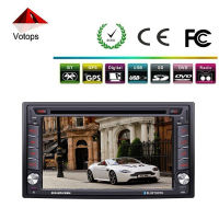 "6.2"" inch touch screen double din car dvd player"