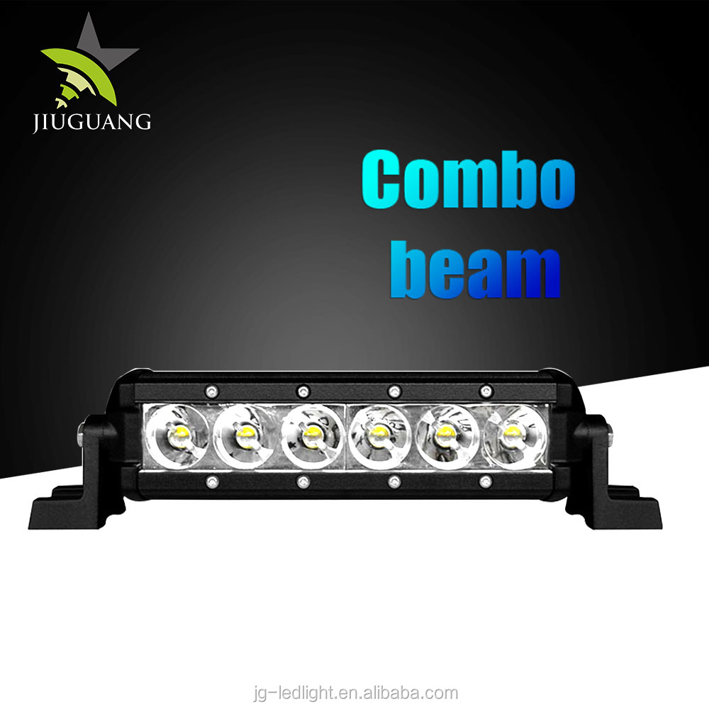 20 Degree Spot 40 Degree Flood Combo Beam 2214 LM 27W LED Light Bar For ATV SUV 4X4 Off Road