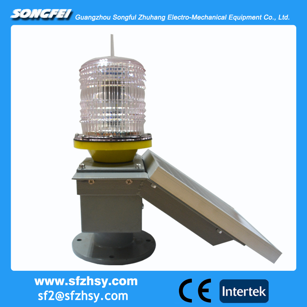 GPS Solar power Medium light Intensity Type A Aviation Obstruction Light