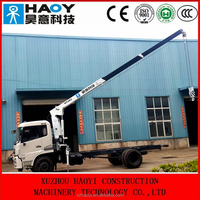 4tonne telescopic crane for truck manufacturer with remote control