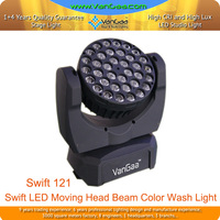 LED Moving Head Disco Colorful Beam Stage Light Work With Mac 101