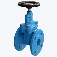 outside screw stem rising type gate valve