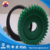 Green and black UHMWPE tooth gear