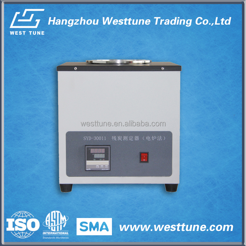 desktop Electric Furnace Method SYD-30011 Carbon Residue Tester for petroleum products