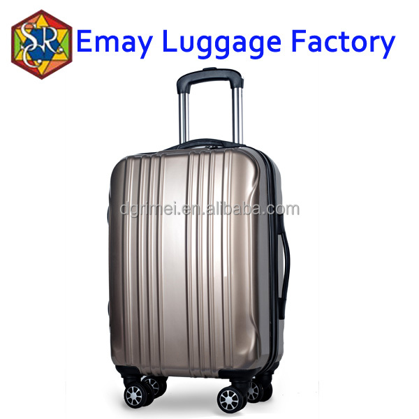 2016 travel trolley abs pc universal wheels aluminum trolley luggage bags