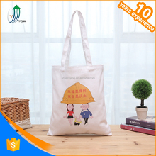 Foldable white sling wholesale cotton bag