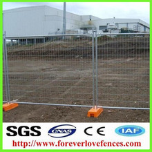 2016 Anping Australia Standard Parking Lot Temporary Fence/ Temporary Welded Metal Fence Panels