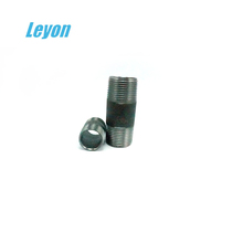 high pressure black steel reducing nipples din 2982/2999 carbon steel nipple male zinc plated hydraulic fitting