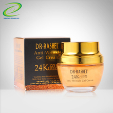Face Beauty Cream Anti Wrinkle Gel Skin Shine Anti Aging Cream With 24K Gold And Collagen