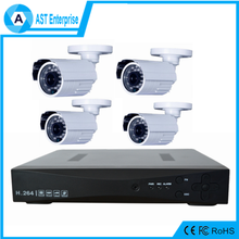 Hd Ir Bullet Camera 1080p 4 Channel AHD dvr Kit 8ch Standalone Dvr System Wifi Cctv Camera System