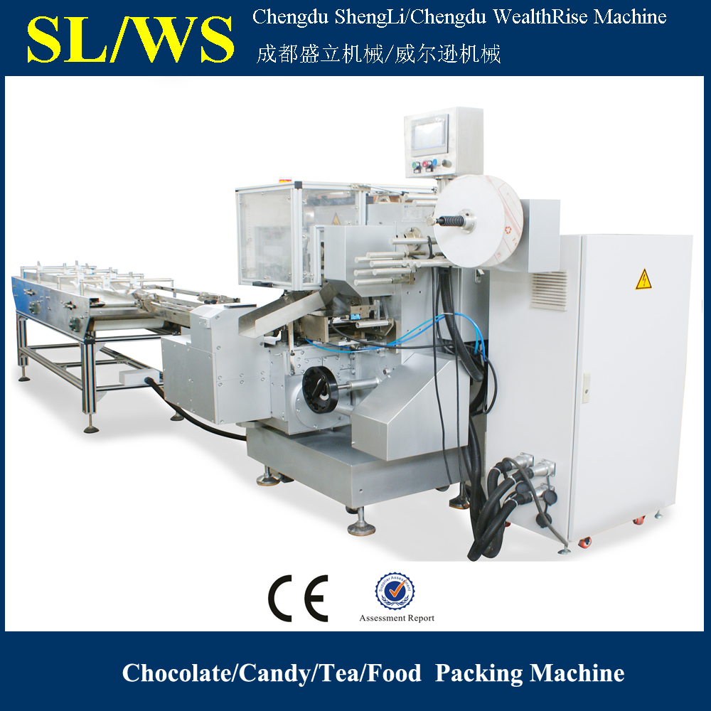 300 ppm Automatic Ferrero Rocher Chocolate Wrapping Machine
