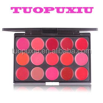New Pro 10 Color Makeup Lip Gloss Cream Lipstick Palette