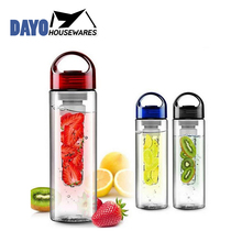 Alibaba China Wholesale Fruit Infusion Eco Friendly Drinking Plastic Water Bottle