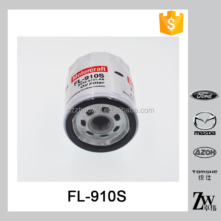 High efficiency auto engine lubrication system oil strainer FL-910S BE8Z-6731-AB MOTORCRAFT for FOR-D
