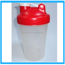 Shaker Water Bottles,Fashion Sports Fitness Shake Cups ,Plastic Shake Cup