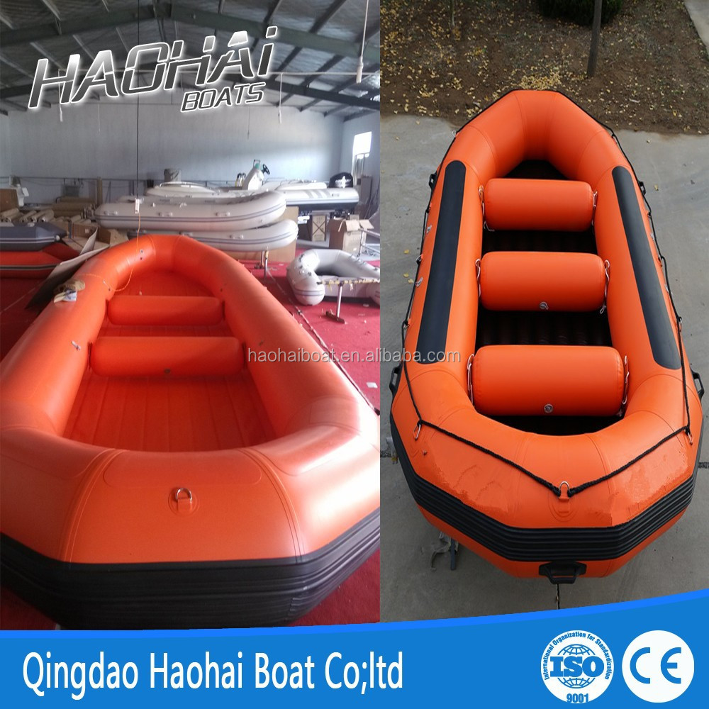 4.85m river inflatable rafting boat