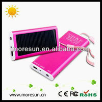 Solar battery Charger for smartphone iphone samsung galaxy Mini Solar panel charger Universal Solar Power Bank