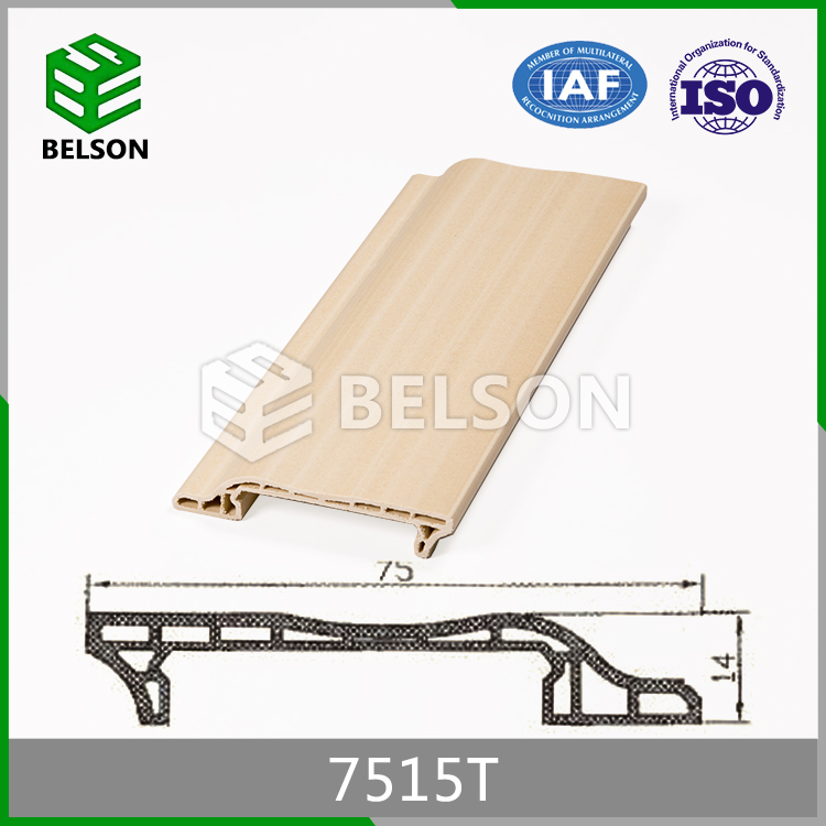 2016 Latest Design Door Decoration Plastic Baseboards
