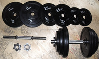 rubber coated adjustable 40kg dumbbell set with chrome handle