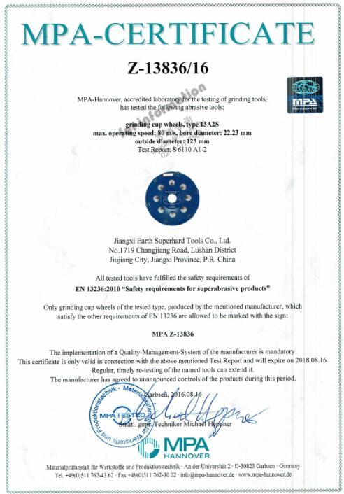 Company Overview Jiangxi Earth Superhard Tools Co Ltd