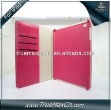 for iPad3 leather case flip
