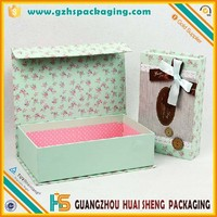 Custom made flip magnetic top box hard board paper box for Liquid Face Wash,cream
