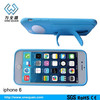 New Design Multifunction Silicone Mobile Phone Case with Slap Stand for iPhone 6