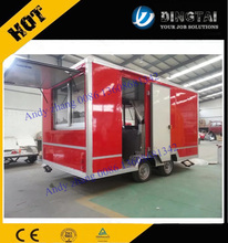 412 Food Catering Trailer/mobile Kitchen Truck For Sale/food Service Trailer 0086 13608681342