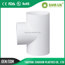 UPVC Fittings Manufacturer in China Schedule 40 PVC Pipe Tee