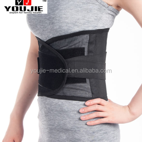 Quick Dry Mesh Back Brace Lumbar Support with Steel