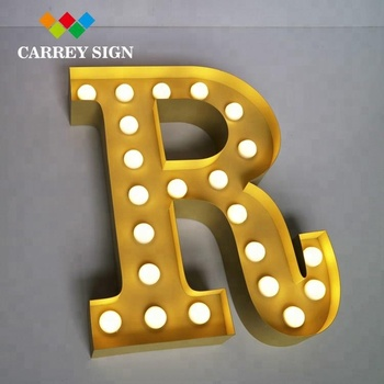Outdoor Large Marquee Big Love Letters Giant LED Light Up Letters