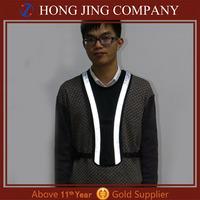 vest reflective safety, Flashing Reflective sport vest