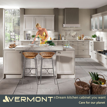2017 Shaker style Modular Kitchen Cabinets design with best price for sale