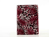 universal leopard print leather flip tablet case for ipad air 2