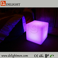 led cube light solar light/ led glowing chair/ outdoor led illuminating cube