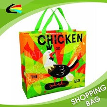 Promotional 100% Recycle Material Shopping Bag Laminated