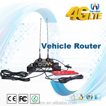 12V 3G 4G Car Wifi Router with Sim Card 300Mbps Openwrt Wifi Router
