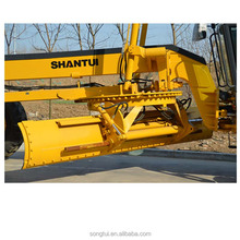 China Shantui manufacture tractor road grader SG21-3 with spare blade