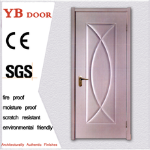 European style nigeria living room laminated quality modern designs hotel pvc wood door