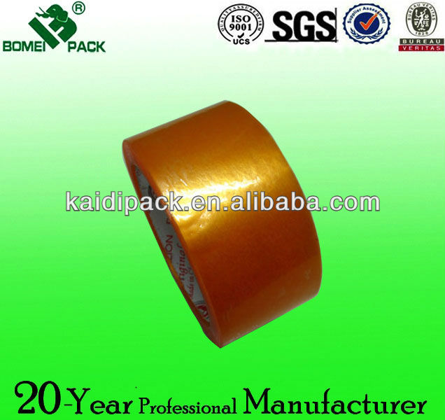 Dongguan acrylic golden bopp carton sealing tape manufacturer
