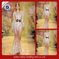 TED0030 Fancy zuhair murad evening dresses prices 2014