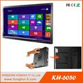 big size LCD wall mounted touch screen kiosk