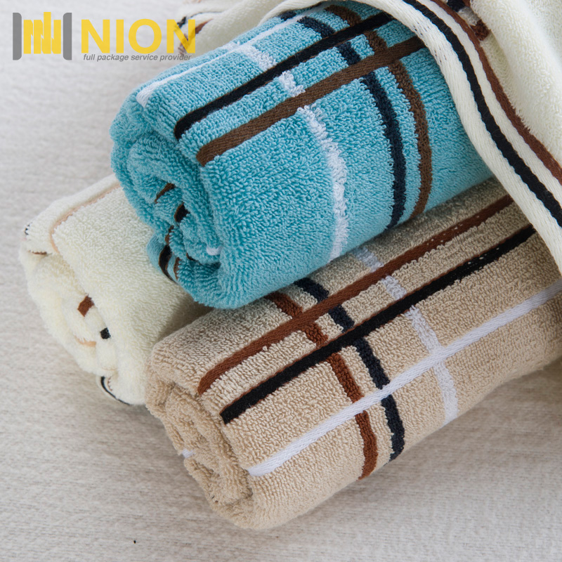 Extra Soft Luxury Cotton Plaid Yarn Dye <strong>Towel</strong> Made In China