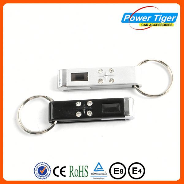 cheap car accessories promotional gifts car 3d metal key chains