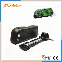 48v 1000w down tube battery , 48v 11.6ah panasonic cell 2900mah electric bike down tube lithium battery