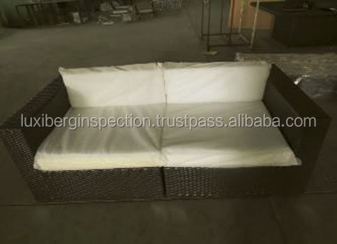 Rattan Furniture Final Random Inspection Services in Bazhou and Heze Heibei