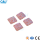 guojie brand wholesale fashionable beautiful color hot fix square resin stone