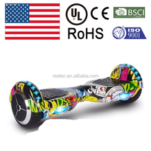 UL 6.5 inch urban art smart balance scooter